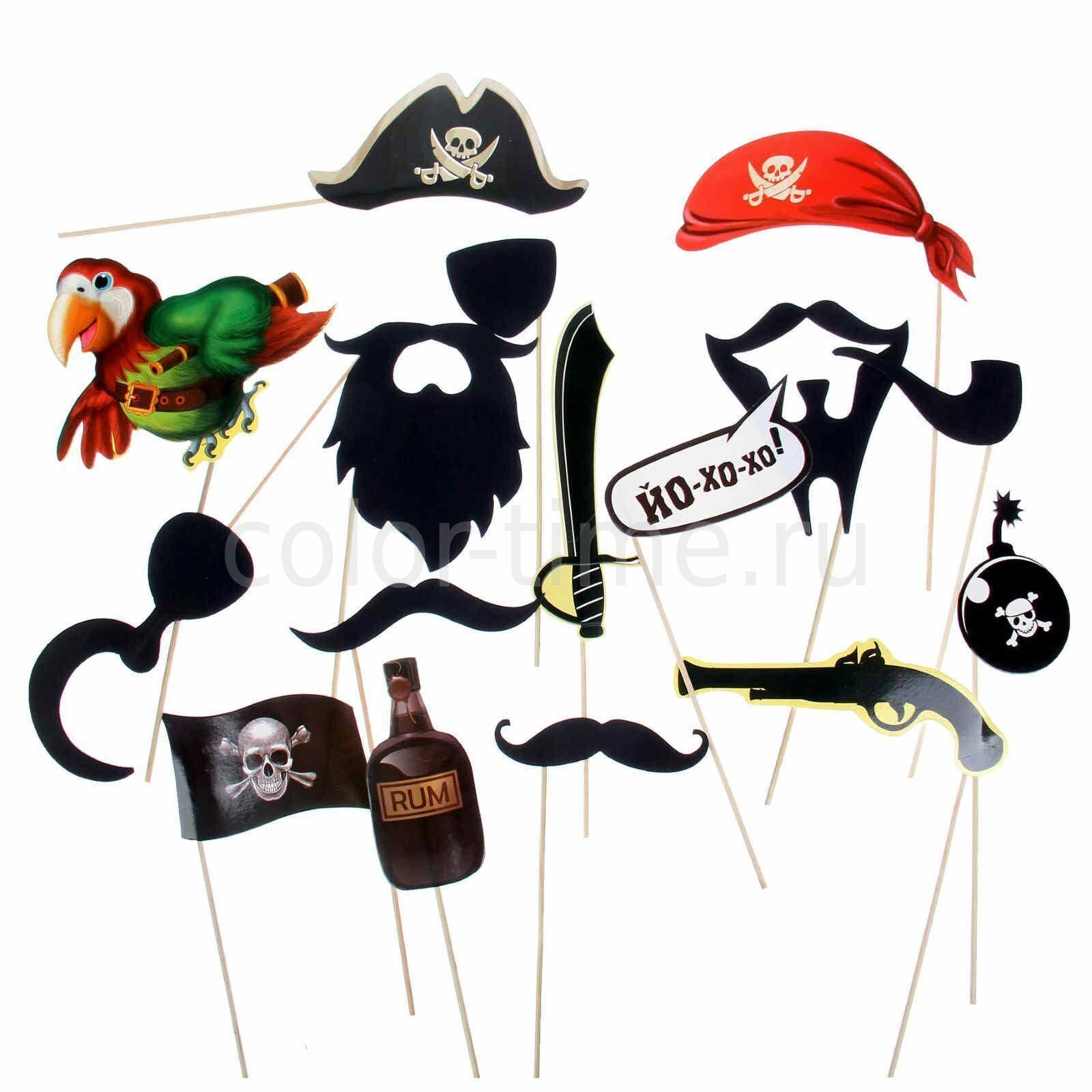 Украшения для пиратской вечеринки своими руками