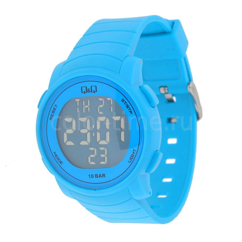 Наручные часы синий резиновые наручные часы купить