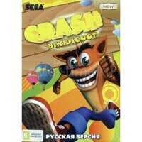Картридж для Sega Игра Crash Bandicoot