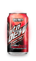 Mountain Dew Game Fuel Citrus Cherry Soda, США