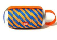 Колонка TG-112 (Bluetooth USB TF FM) Blue Orange