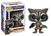 Фигурка башкотряс Funko POP Rocket Raccoon Реактивный Енот Marvel Comics
