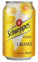 Schweppes Orange (апельсин), Польша