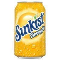 Sunkist Pineapple (Ананас) 355 ml США