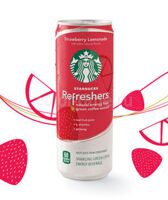 Starbucks Refreshers Strawberry (Клубника), США