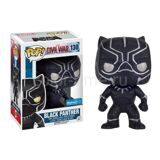 Фигурка башкотряс Funko POP Black Panther Черная пантера Marvel Comics