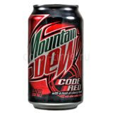 Mountain Dew Code Red (Вишня), США