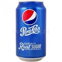 Pepsi-Cola Real Sugar