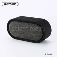 Колонка Remax RB M11 (Bluetooth USB TF FM) Black