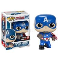 Фигурка башкотряс Funko POP Captain America Капитан Америка Marvel Comics