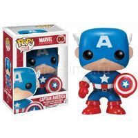 Фигурка башкотряс Funko POP Captain America 06 Капитан Америка Marvel Comics