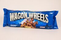 Печенье Wagon wheels Вагон Вилс с суфле и джемом Импорт Бокс