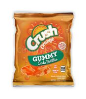 Мармелад Crush Orange(оранж) Soda Bottle Gummies 128 грамм