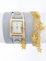 Charm Cloud Grey Gold Star