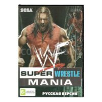 Картридж для Sega Игра Www Super Wrestle Mania