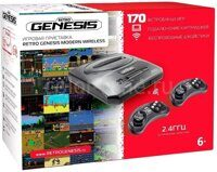 Игровая приставка 16 bit SEGA Retro Genesis Modern Wireless (170 в 1)