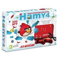 Приставка Sega Dendy Hamy 4 (350-in-1) Angry Birds Red